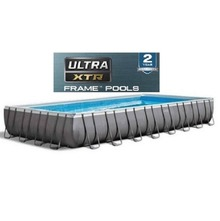 Bazen Intex Ultra Metal 975x488x132 cm s filtrom na pijesak, New Technology XTR
